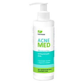Очищающий гель для лица 200 мл Elfa Pharm Acne Med
