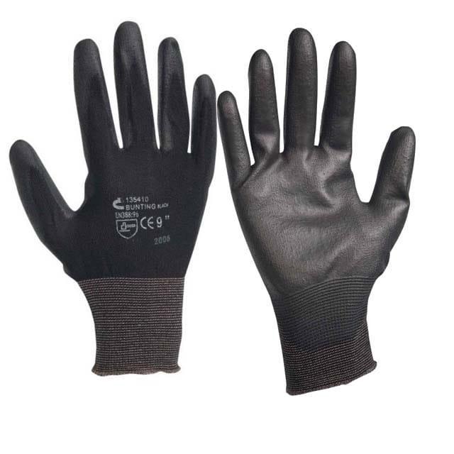 Перчатки рабочие, полиуретановое покрытие на ладони Artmaster упаковка — 12 пар