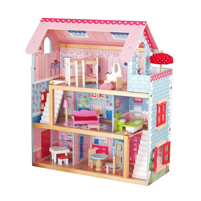 Кукольный домик игровой для кукол Лол AVKO Вилла Савона + 2 куклы
