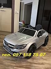 Детский электромобиль M 4010 EBLR-3, Mercedes-Benz AMG C63S цвета черный, синий, бордо, серый