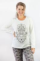 Комплект домашней одежды женский джемпер+брюки