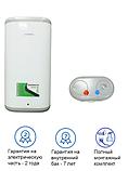 Электрический водонагреватель (бойлер) Grunhelm GBH I-100VH Flat на 100 л, фото 2