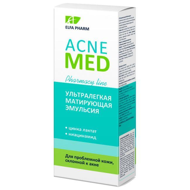 Ультралегкий основа емульсія 40 мл Elfa Pharm Acne Med