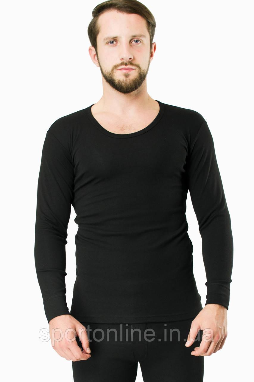 Термокофта мужская лёгкая JIBER Poly Thermal, чёрная M