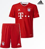 Футбольная форма ФК Бавария Мюнхен (FC Bayern Munchen) 2020-2021 Домашняя