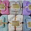 Комплект полотенец микрофибра Однотонные