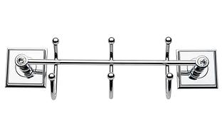 Крючки для полотенец самоклеящиеся тройной Kozak banyo Y513