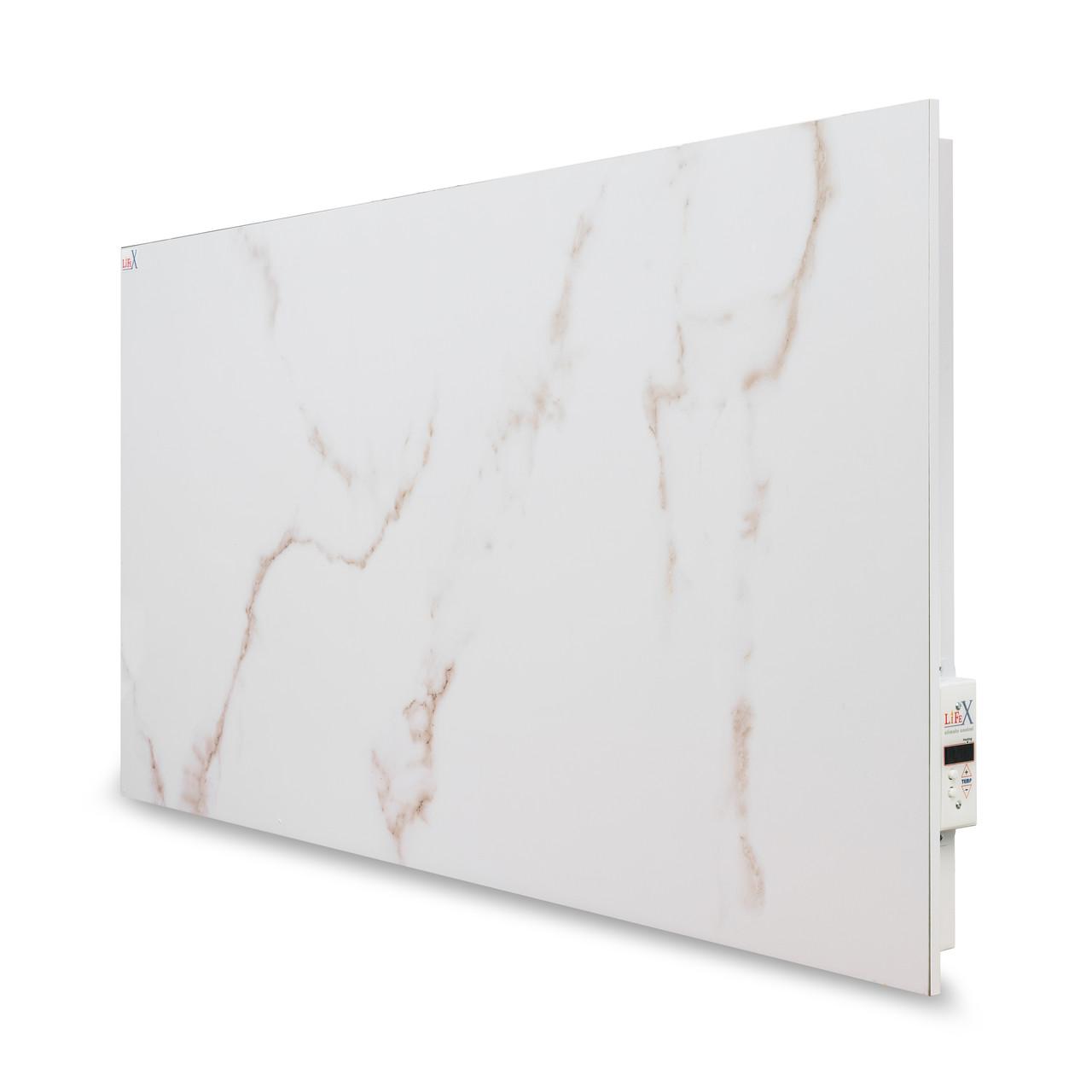 Керамическая панель отопления LIFEX 900 Вт Bio-air (белый мрамор)