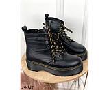 Зимние ботинки, на толстой подошве, фото 2