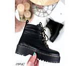 Зимние ботинки, на толстой подошве, фото 3