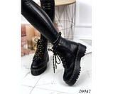 Зимние ботинки, на толстой подошве, фото 6