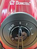 Блендер DOMOTEC MS-6611 2 в 1 с кофемолкой,стационарный 1000 Вт Красный, фото 2