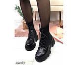 Ботинки демисезонные, на тракторной подошве, фото 3