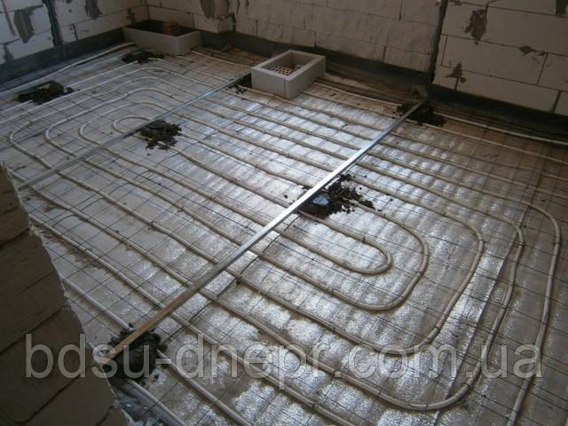 Чистовая стяжка пола в Днепропетровске