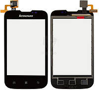 Сенсор (тачскрін) для телефону Lenovo A60+ (original) Black