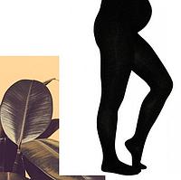 Махровые колготки для беременных со специальной вставкой на животик
