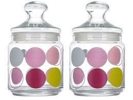 Набор банок стеклянных с крышкой Luminarc Jar Zoom White 750мл 2шт