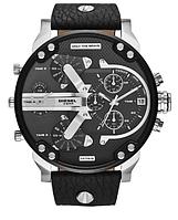 Мужские наручные часы Diesel Brave black silver