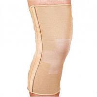 Бандаж эластичный на коленный сустав со спиральными ребрами Ortop ES-719 Тайвань