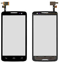 Сенсор (тачскрин) Alcatel One Touch 5035 X'Pop (original) Black