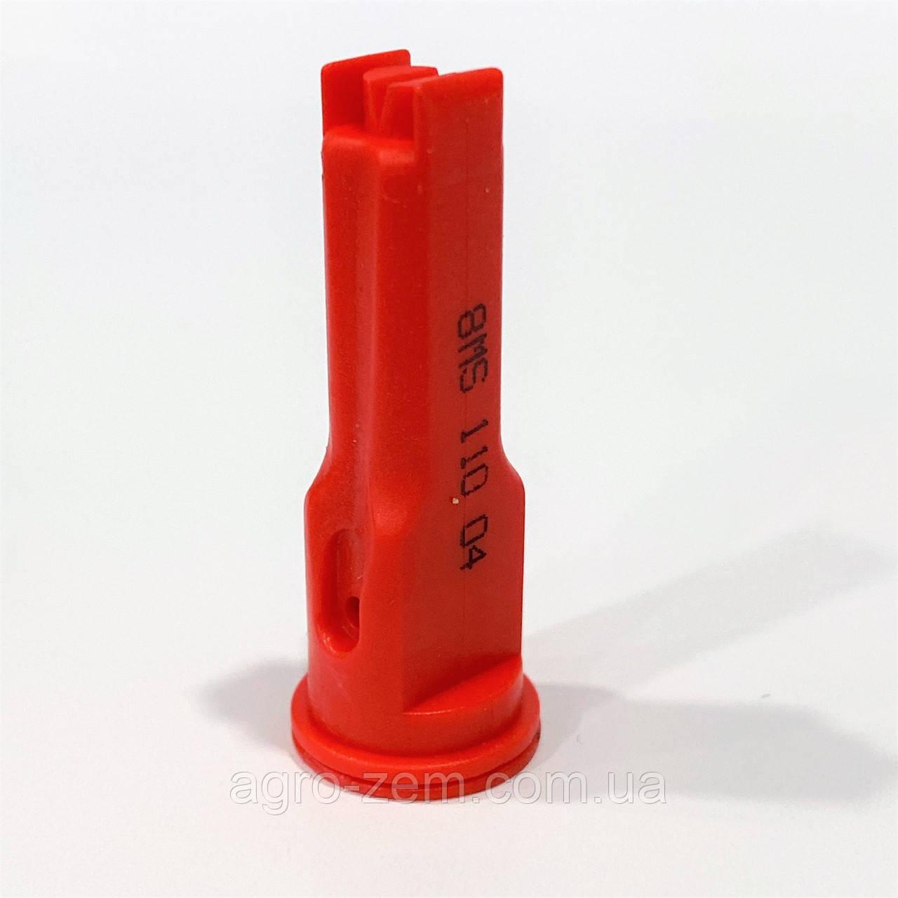 Распылитель опрыскивателя инжекторный 1108MS красный 04 Agroplast AP041108MS |220172|