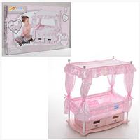 Кровать с комодом для куклы (Baby Born) Hauck