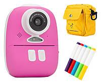 Redleaf BOB Дитяча камера з принтером - рожевий, синій, жовтий, фото 1