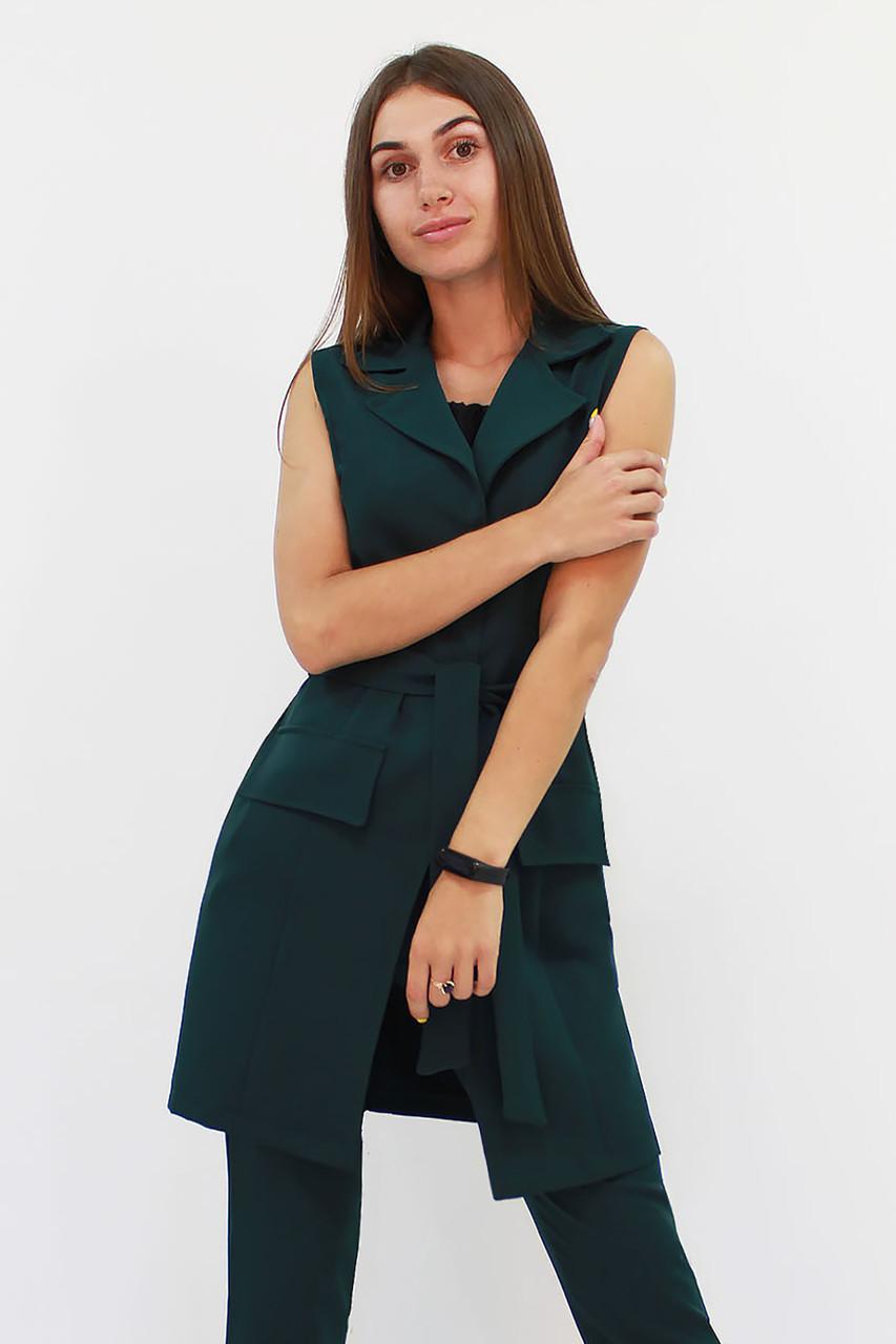 Женский вечерний костюм Endru, темно-зеленый