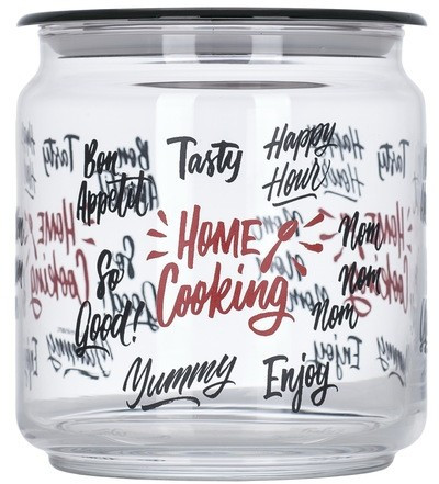 Банка стеклянная с крышкой Luminarc Home Cooking   750мл