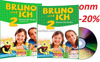 Немецкий язык / Bruno und ich / Schülerbuch+Arbeitsbuch+CD. Учебник+Тетрадь (комплект), 2 / Cornelsen
