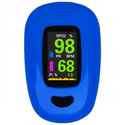 Пальцевый пульсоксиметр A3-BLUE