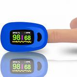 Пальцевый пульсоксиметр A3-BLUE, фото 2