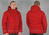 Зимняя мужская куртка Black Vinyl (Black-Vinyl-zzz-C19-1562C-1), куртки мужские, спортивная мужская куртка