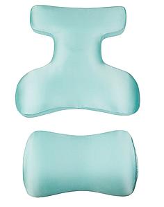 Beauty Set - Комплект ортопедических подушек для сна на животе (шелк) (Face Pillow, Roller Pillow) Биория