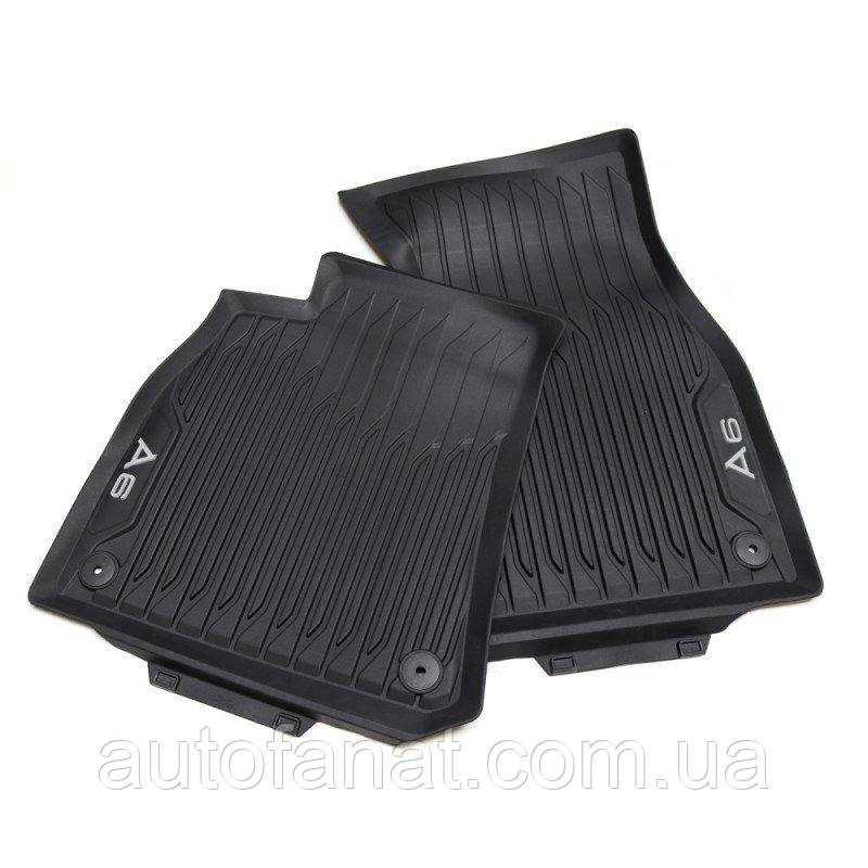 Оригинальные передние коврики в салон Audi A6 (C8) (4K1061501041)