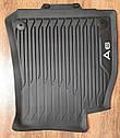 Оригинальные передние коврики в салон Audi A6 (C8) (4K1061501041), фото 3
