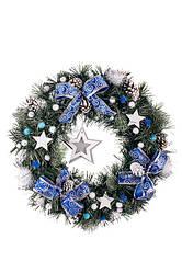 Рождественские венки и хвойные гирлянды