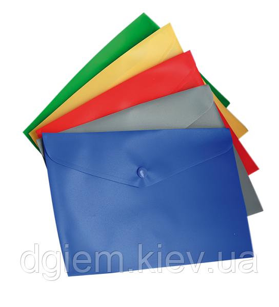 Папка-конверт А5 на кнопці