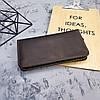 Кожаное портмоне, клатч Stedley, фото 8