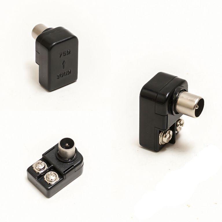 Штекер антенный для телевизора | Автомобильный антенный штекер | Антенный штекер PPQ