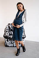 """Сарафан джинсовый для беременных, будущих мам """"To Be"""" 3145488, фото 1"""