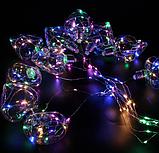 Xmas гірлянда у вигляді Лампочки серця 150 Led Мультикольорова 10M 8CM 3M1,5M (30), фото 2