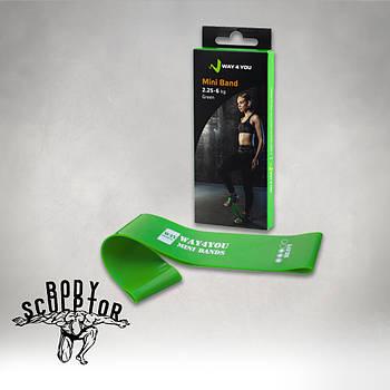 Еспандер для ніг Mini Bands Зелений