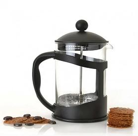 Заварочный чайник | Френч-пресс для чая стекло + пластик Benson BN-136 600 мл