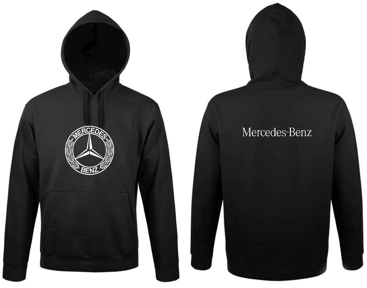 Реглан с капюшоном Mercedes round