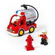 Конструктор Макси - Пожарная станция (64 элемента) Полесье 77516, фото 2
