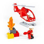 Конструктор Макси - Пожарная станция (64 элемента) Полесье 77516, фото 3