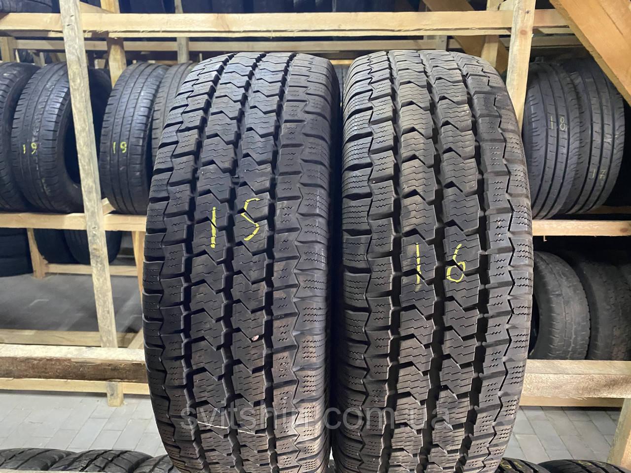 Шини бу зима 215/65R16c Continental 6.5мм 2шт