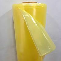 Пленка тепличная 180мкм, 6м/50м. Стабилизатор UV 2%. Желтая. Пленка в развороте 6 метров.