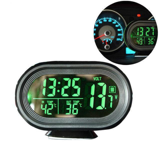 Часы для авто   Автомобильные часы   Часы автомобильные VST-7009V